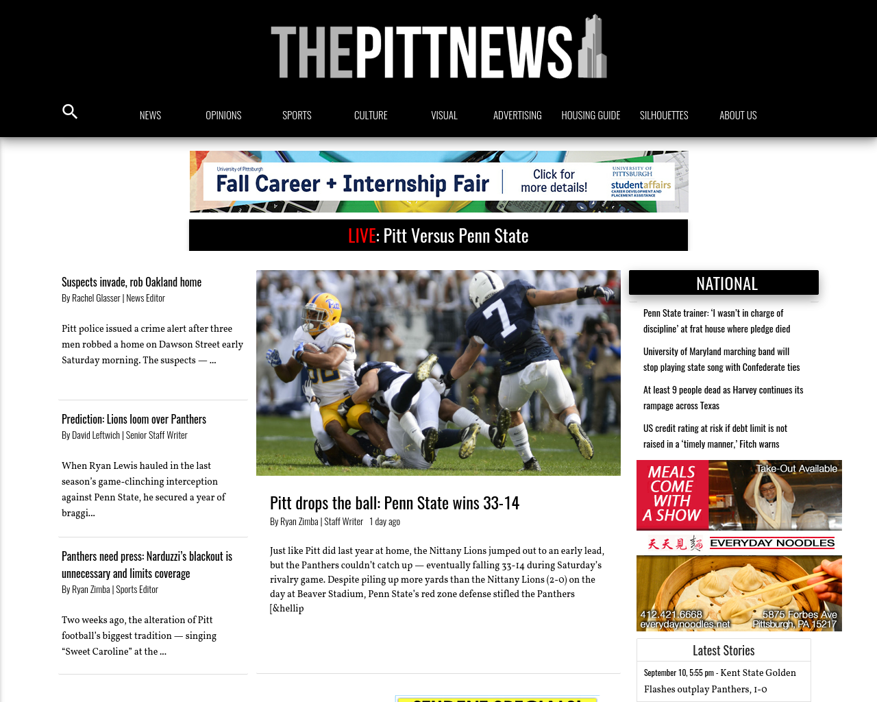 The-Pitt-News-Advertising-Reviews-Pricing