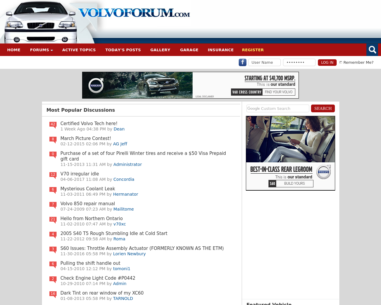 VolvoForum.com-Advertising-Reviews-Pricing
