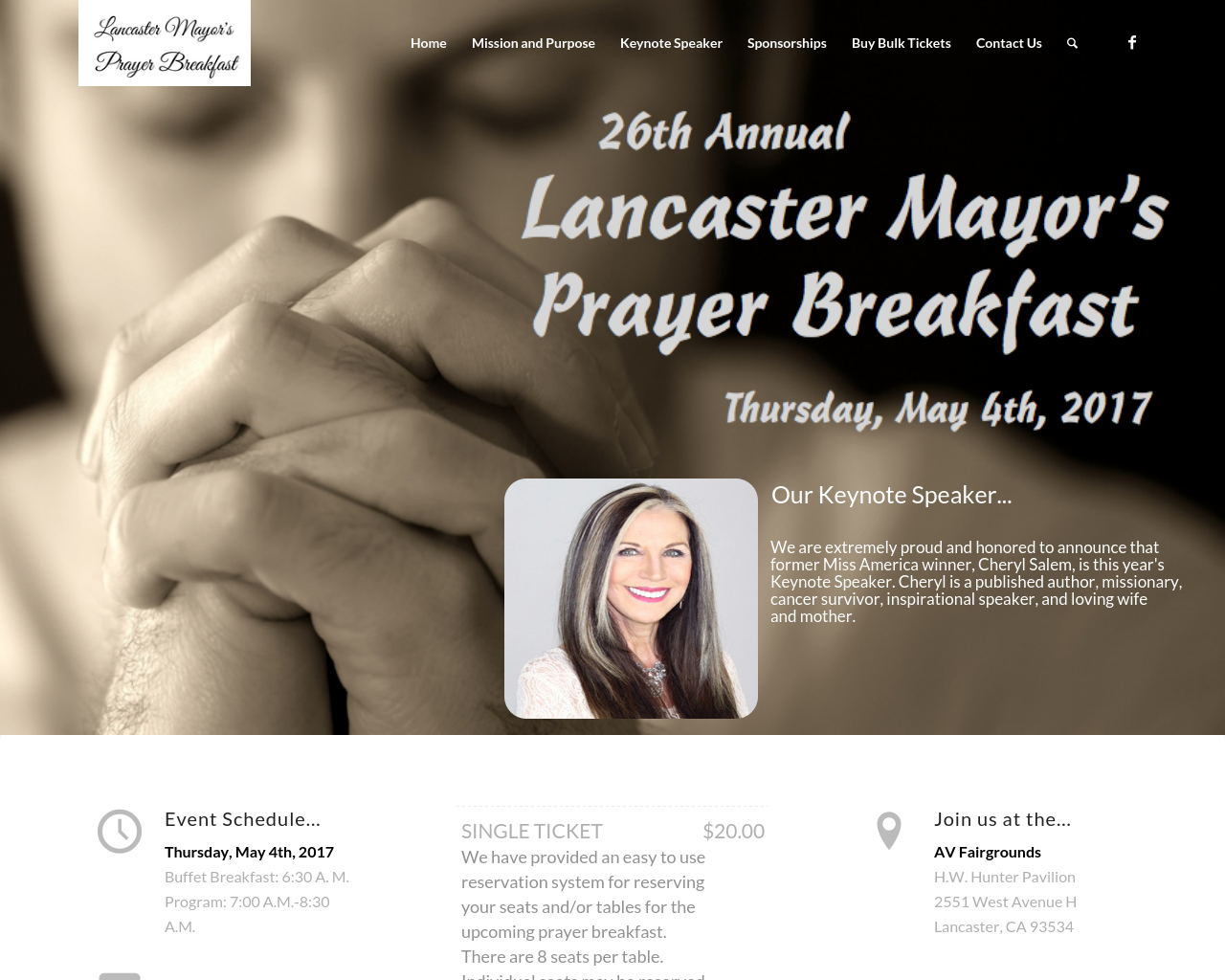 Lancaster-Mayor's-Prayer-Breakfast-Advertising-Reviews-Pricing