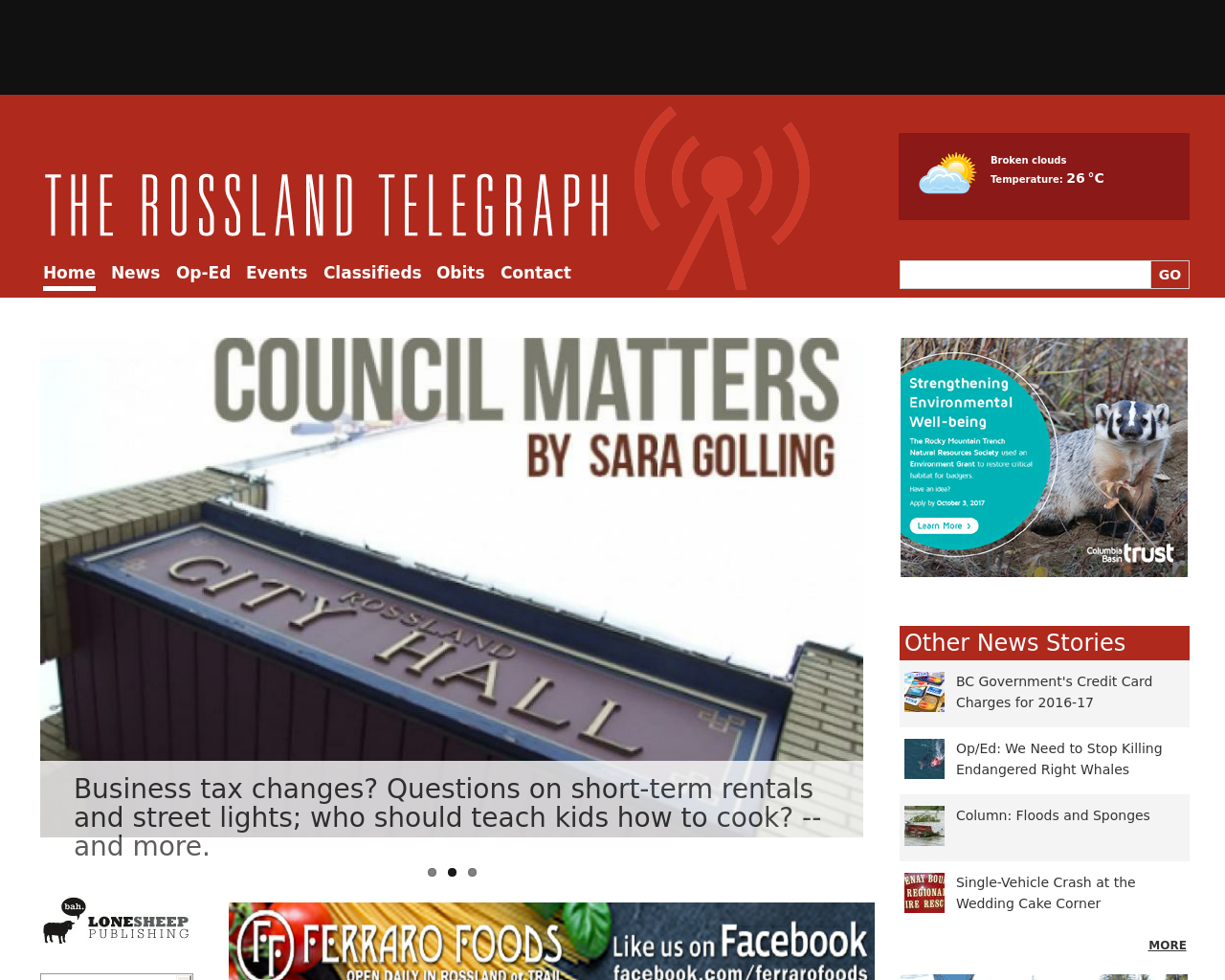 The-Rossland-Telegraph-Advertising-Reviews-Pricing