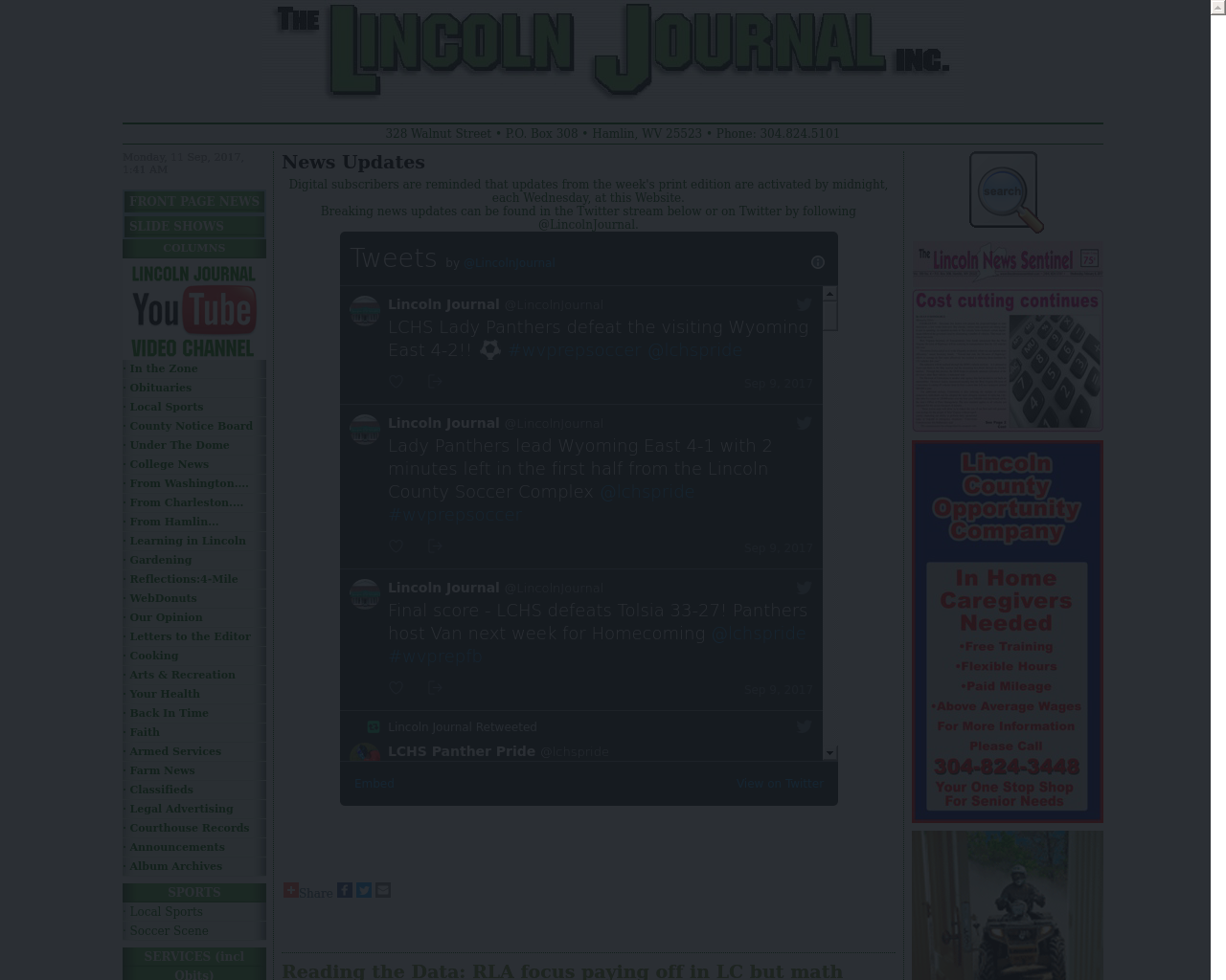 Lincolnjournalinc.com-Advertising-Reviews-Pricing