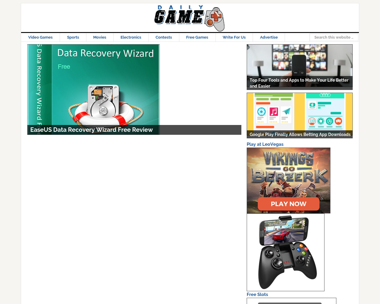 Daily-Game-Advertising-Reviews-Pricing
