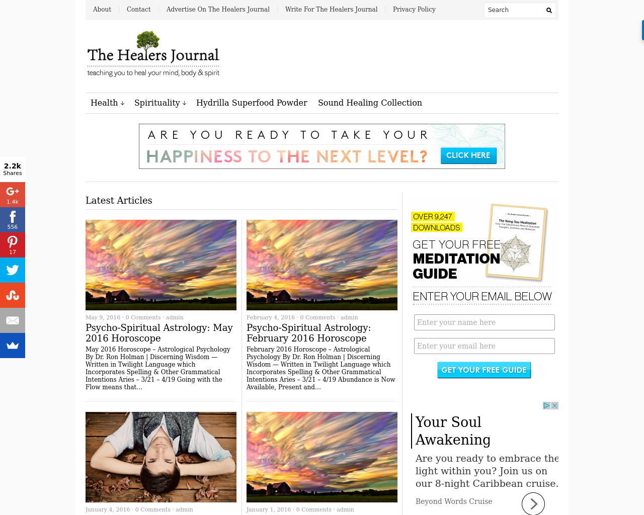 The-Healers-Journal-Advertising-Reviews-Pricing