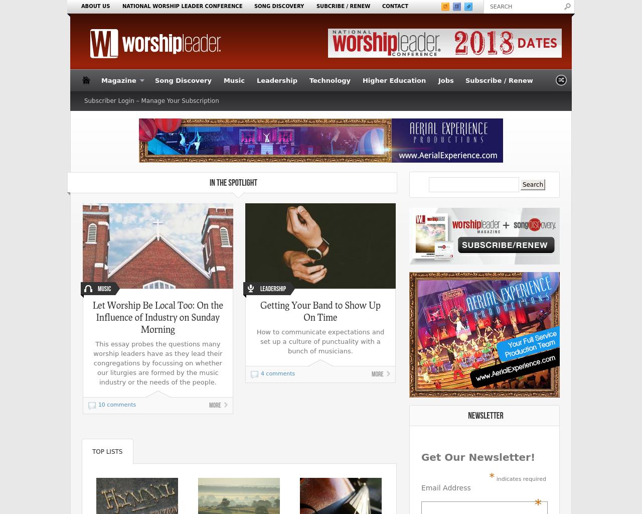 Worship-Leader-Advertising-Reviews-Pricing