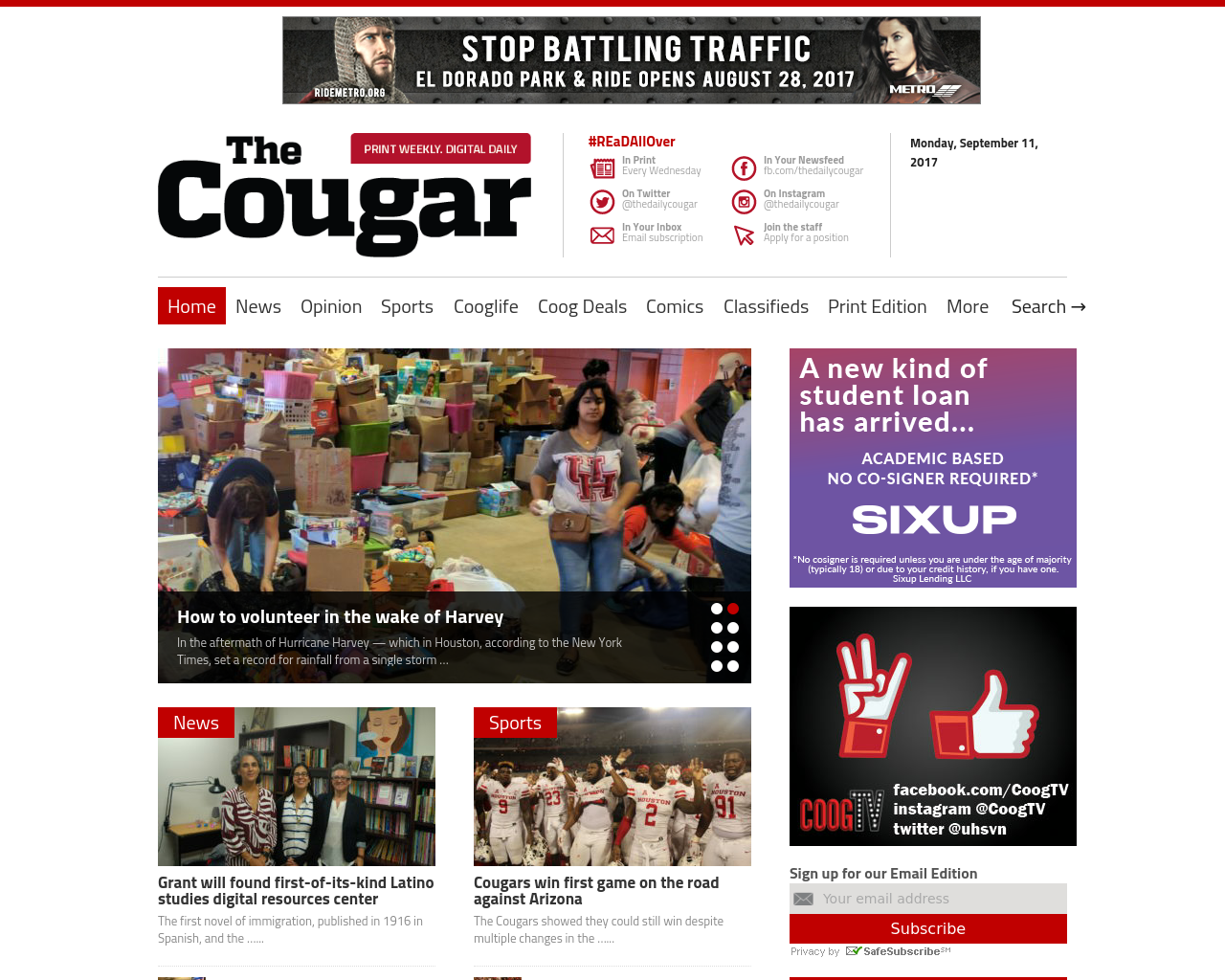 The-Daily-Cougar-Advertising-Reviews-Pricing