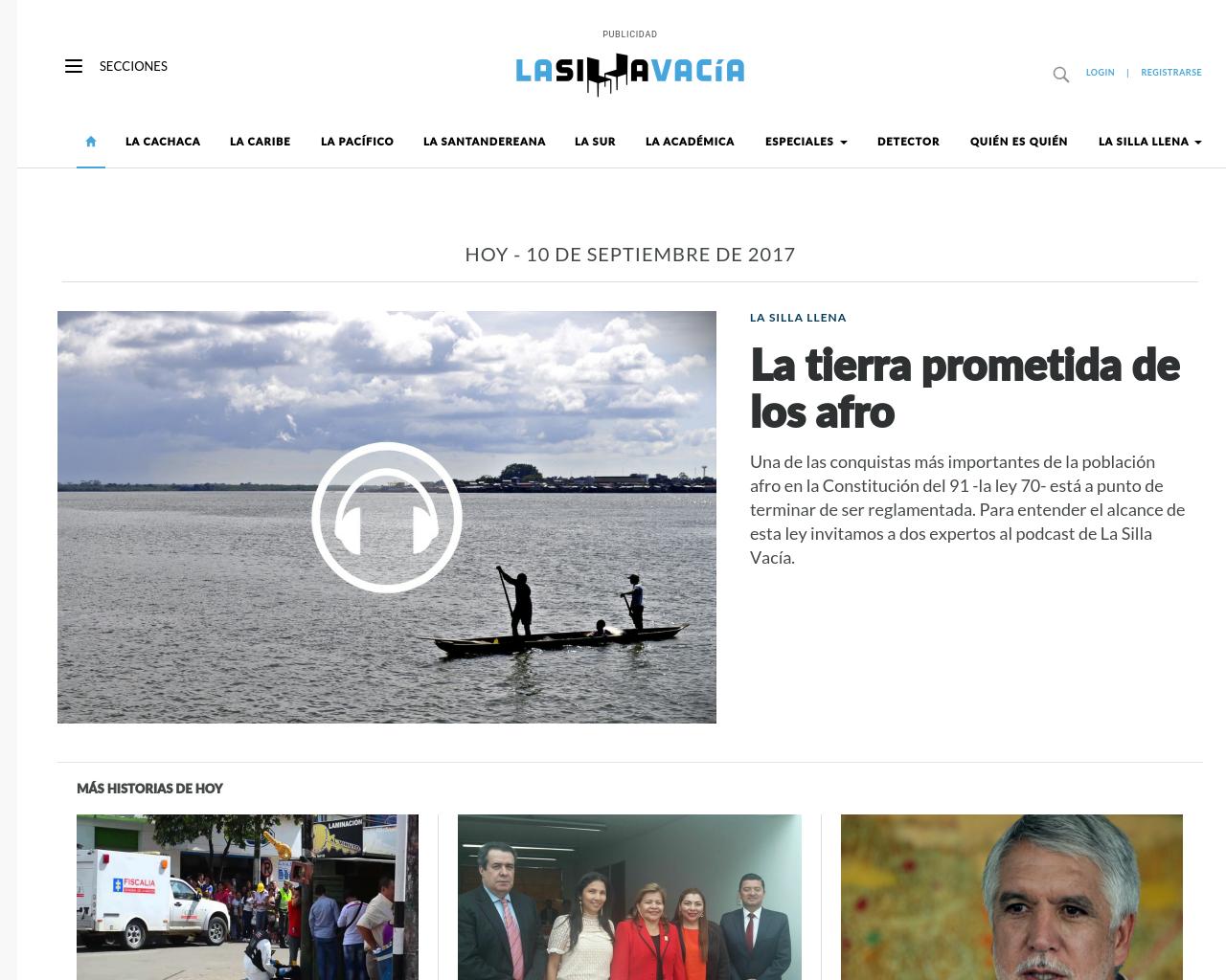 La-Silla-Vacia-(The-Empty-Chair)-Advertising-Reviews-Pricing