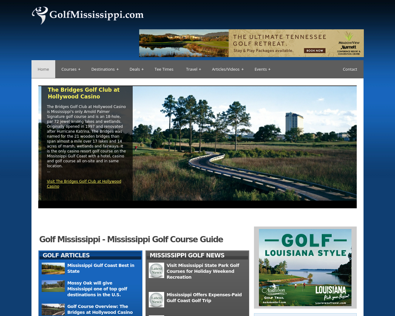 GolfingMississippi.com-Advertising-Reviews-Pricing