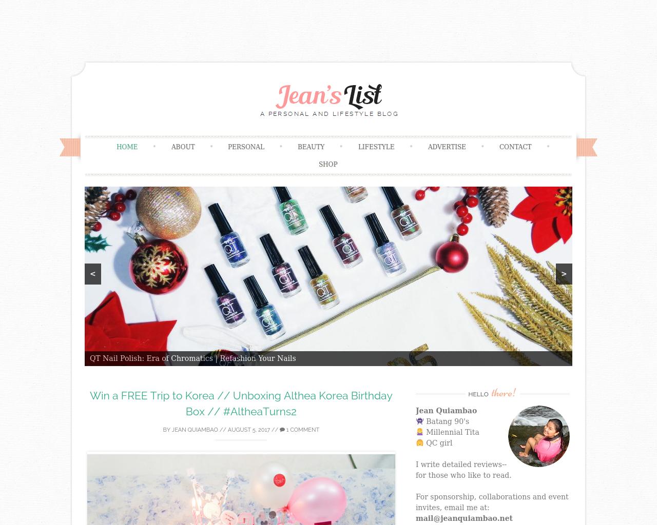 Jeanquiambao.net-Advertising-Reviews-Pricing