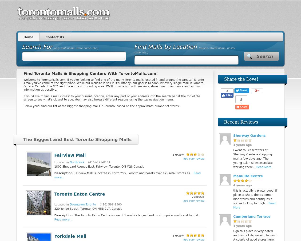 Toronto-Malls-Advertising-Reviews-Pricing