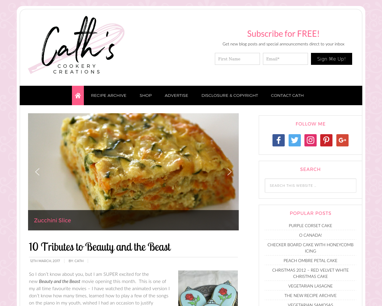 Cath's-Cookery-Creations!-Advertising-Reviews-Pricing