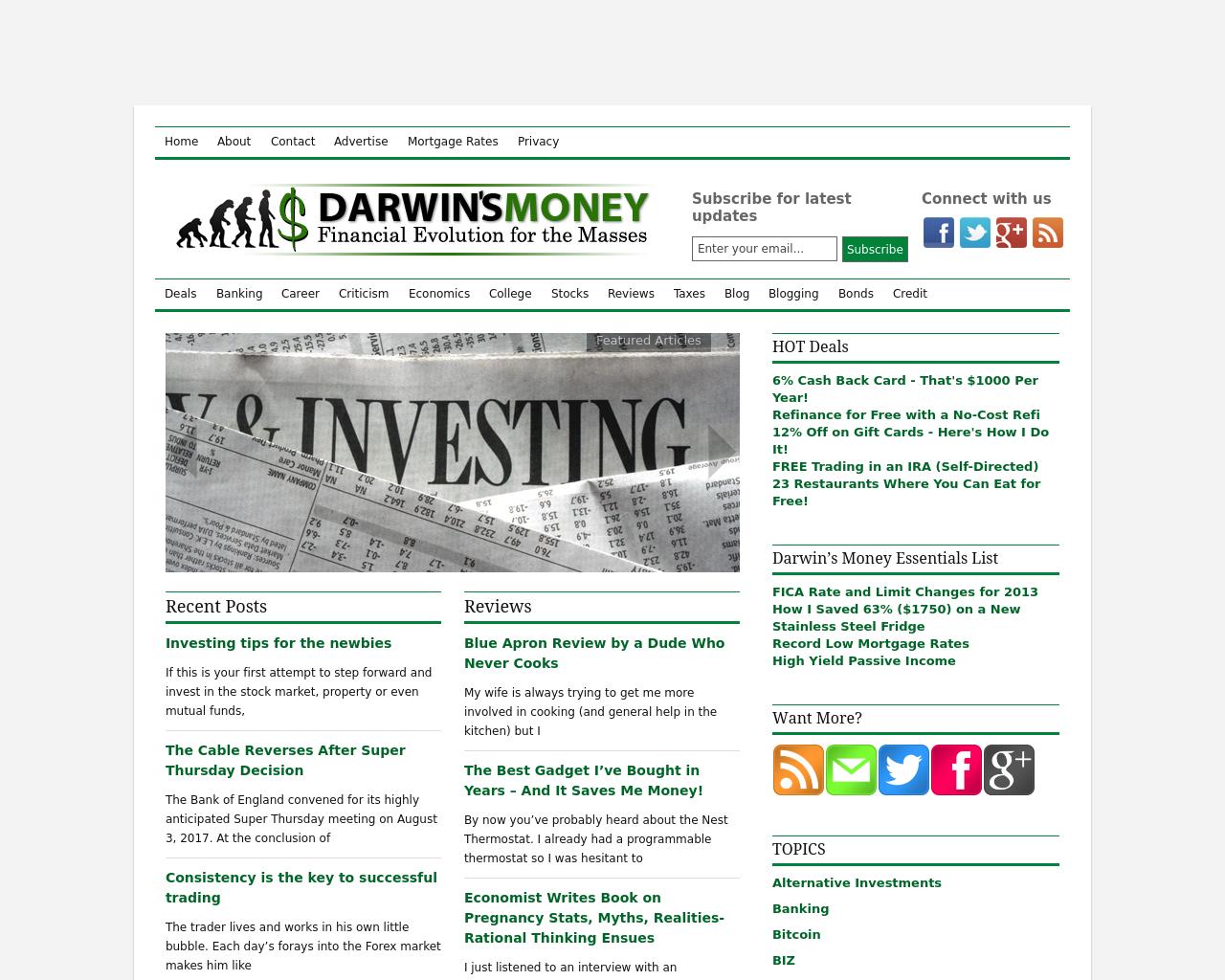 Darwin's-Money-Advertising-Reviews-Pricing