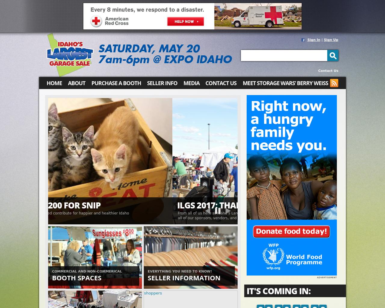 Idahoslargestgaragesale.com-Advertising-Reviews-Pricing