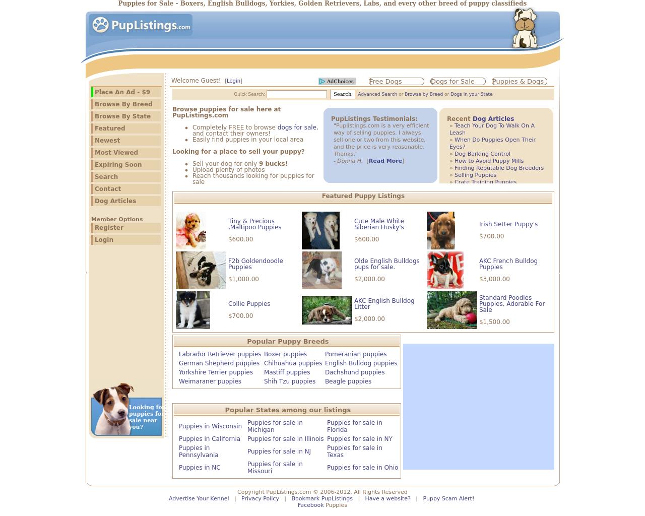 Pup-Listings-Advertising-Reviews-Pricing