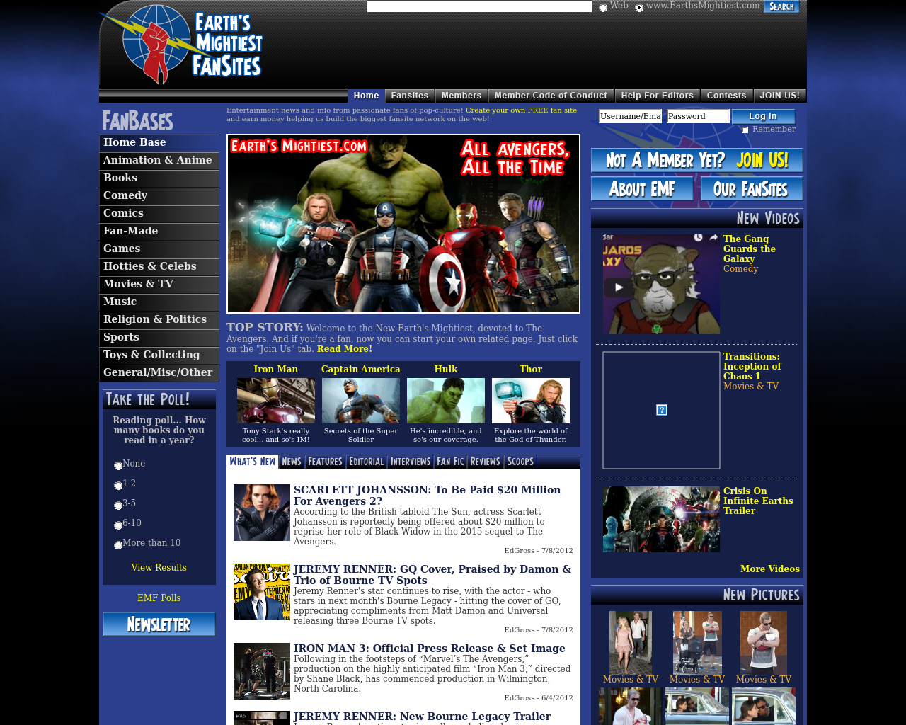 Earth's-Mightiest-Fansites-Advertising-Reviews-Pricing