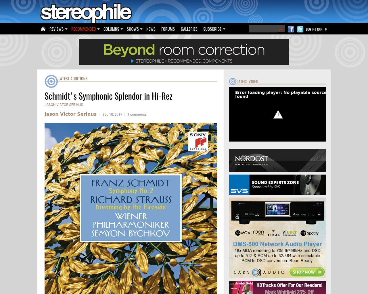 stereophile-Advertising-Reviews-Pricing