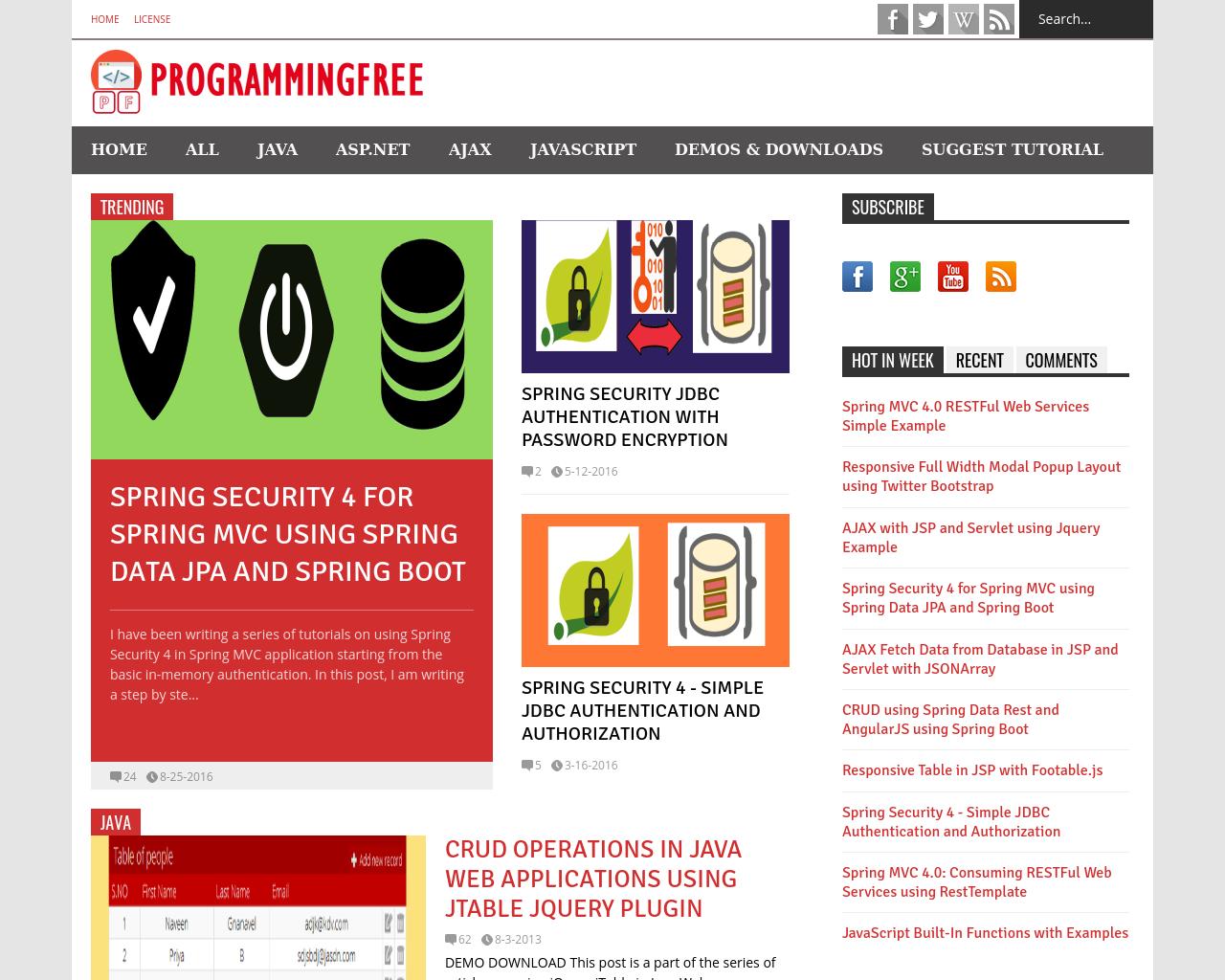 ProgrammingFree-Advertising-Reviews-Pricing