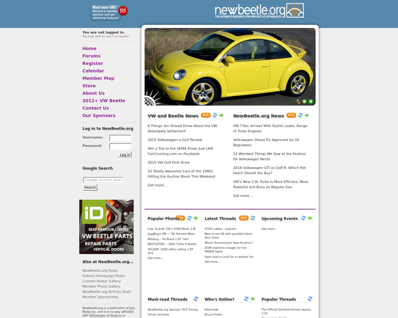 newbeetle.org-Advertising-Reviews-Pricing