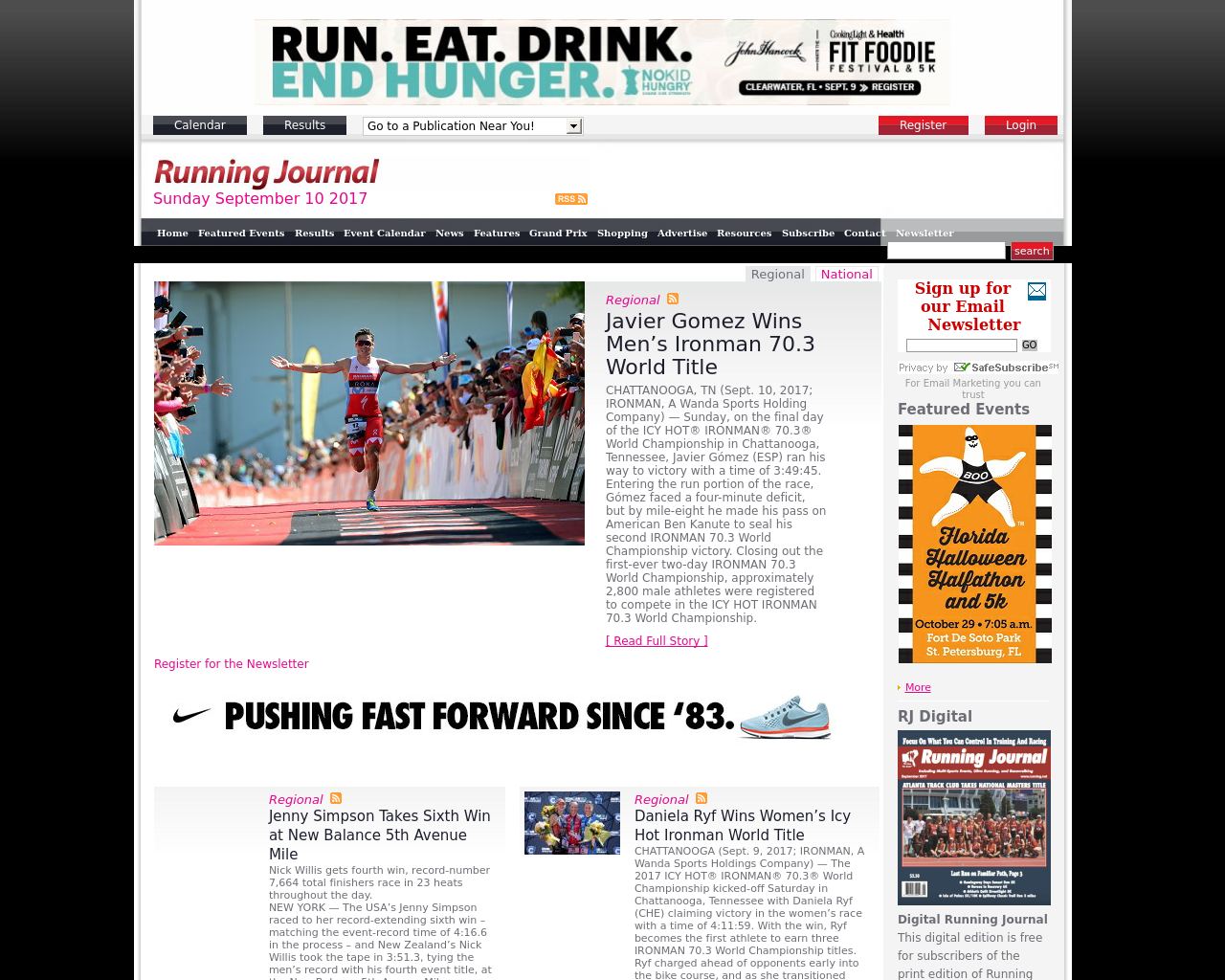 Running-Journal-Advertising-Reviews-Pricing