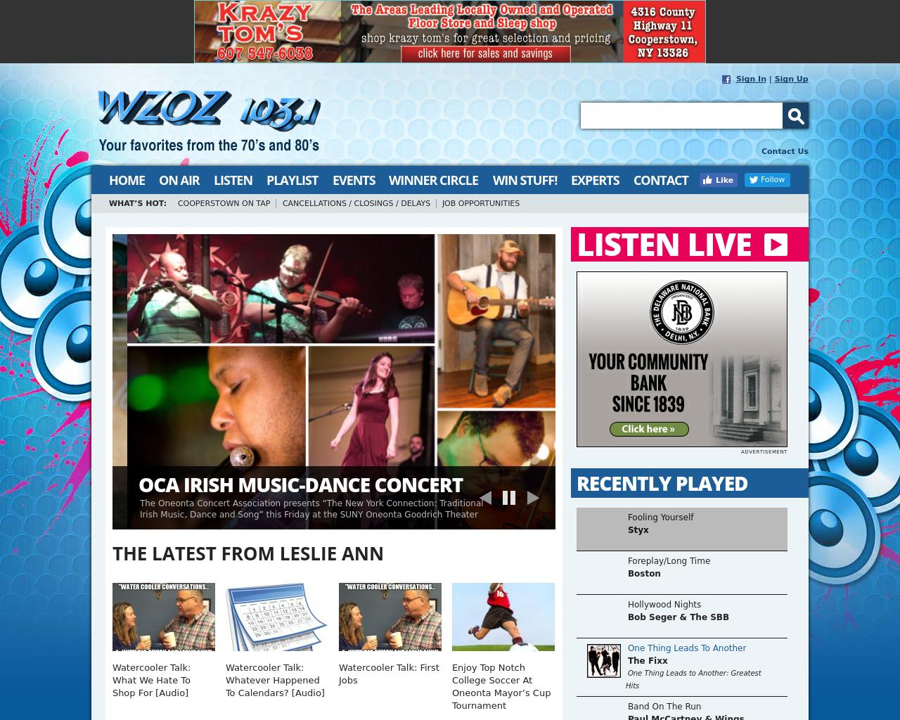 WZOZ-103.1-Advertising-Reviews-Pricing
