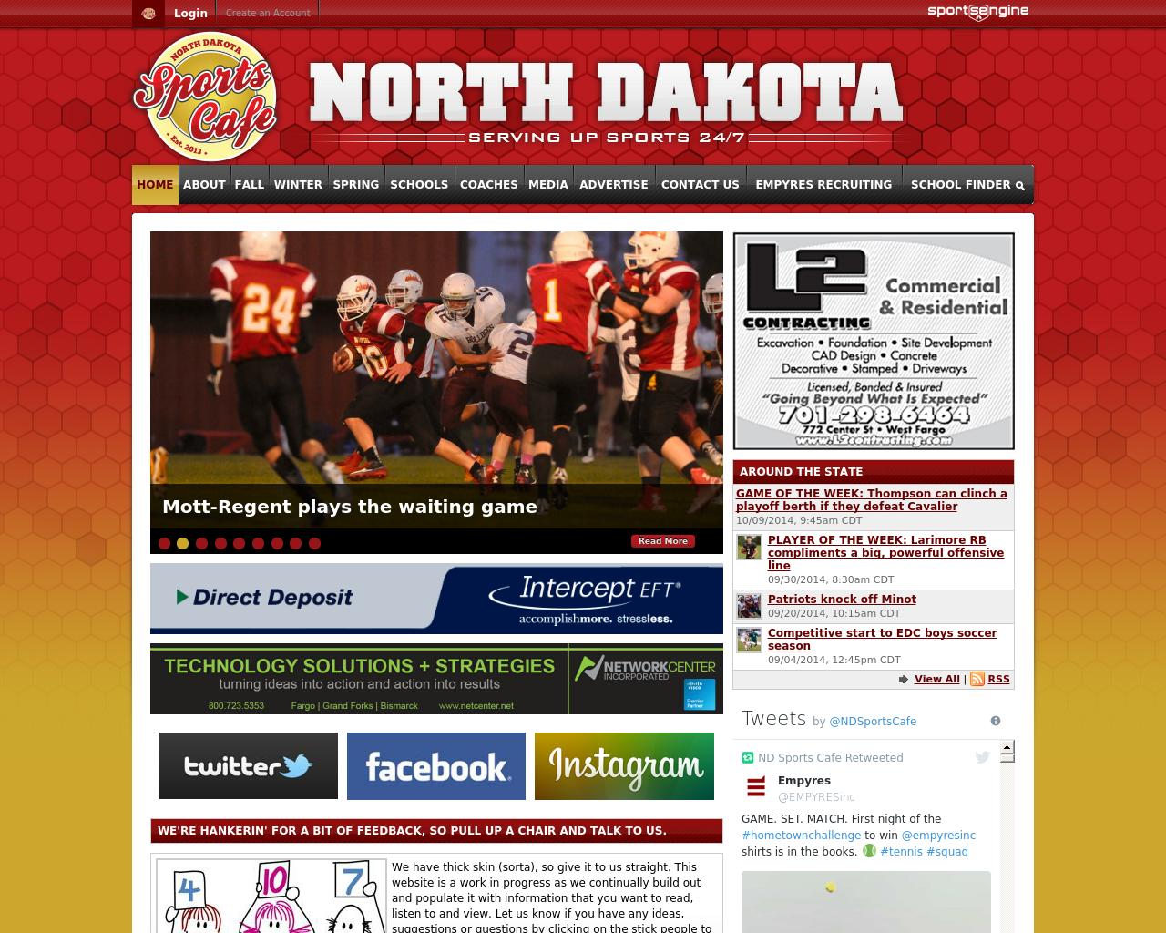 North-Dakota-Sports-Cafe-Advertising-Reviews-Pricing