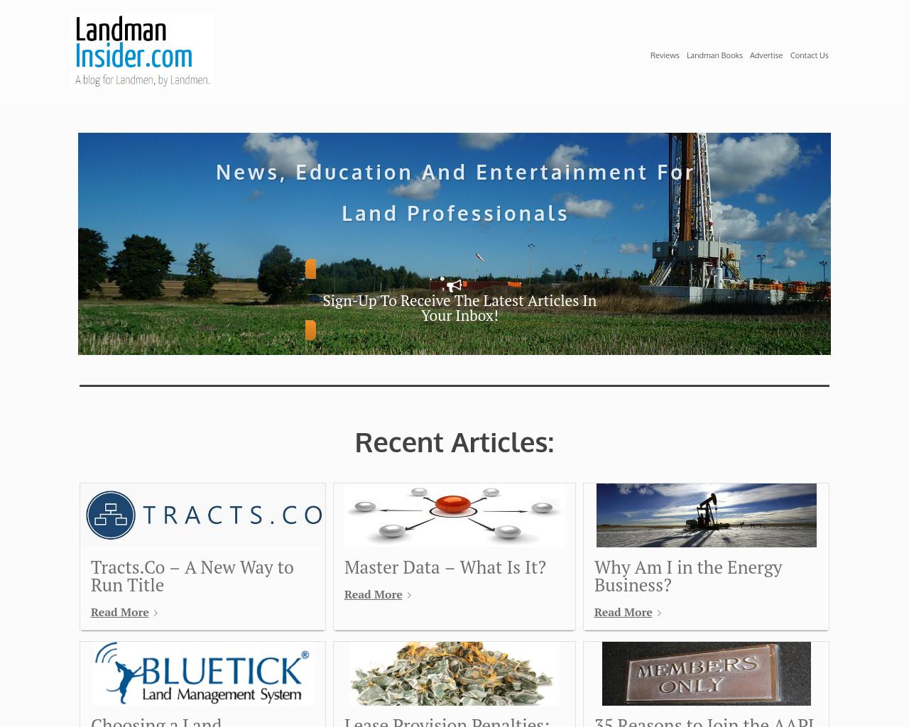 LandmanInsider.com-Advertising-Reviews-Pricing