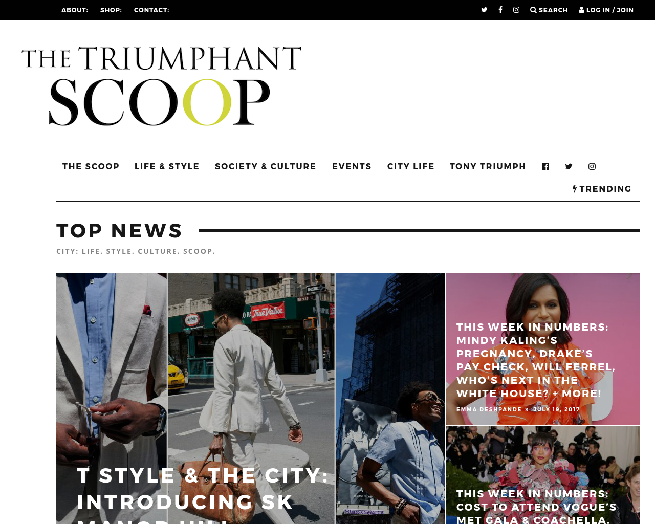 TheTriumphantScoop-Advertising-Reviews-Pricing