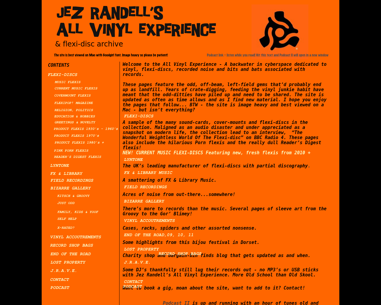 Jez-Randell's-All-Vinyl-Experience-Advertising-Reviews-Pricing