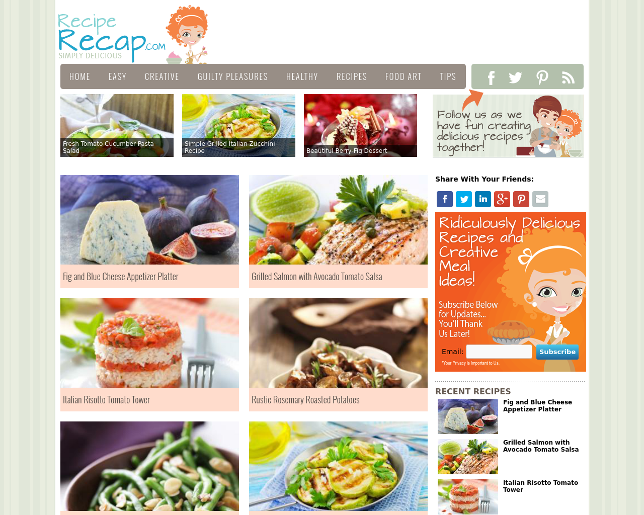 Recipe-Recap-Advertising-Reviews-Pricing