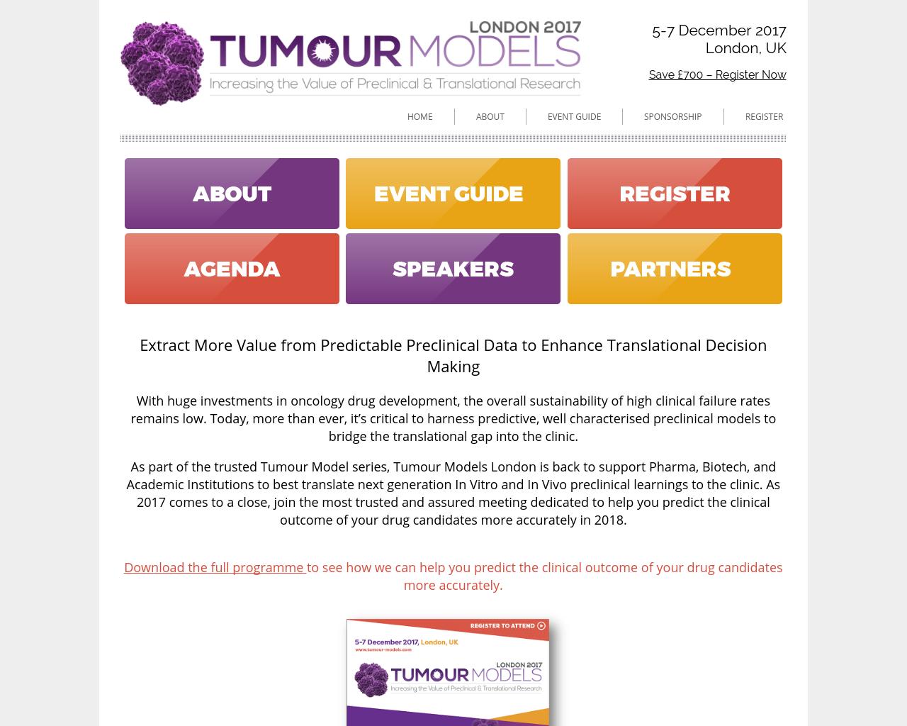 Tumour-Models-Europe-Advertising-Reviews-Pricing