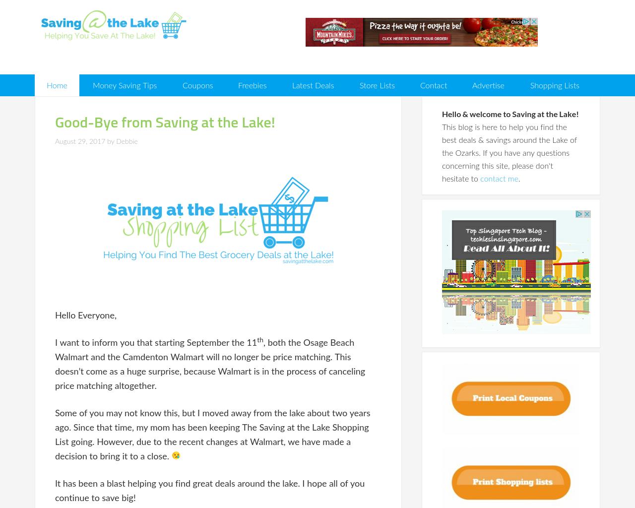 Saving-at-the-Lake-Advertising-Reviews-Pricing