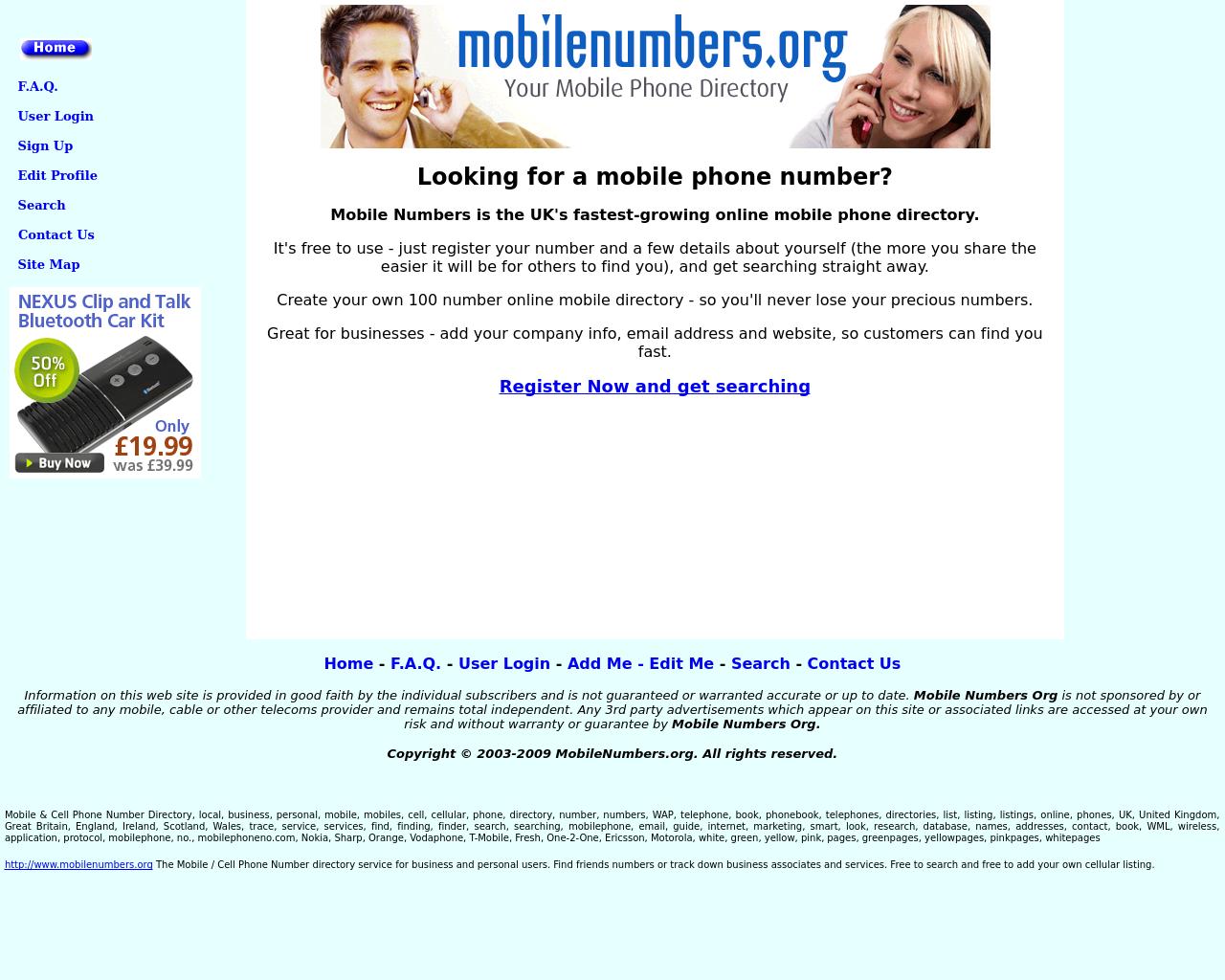 mobilenumbers.org-Advertising-Reviews-Pricing