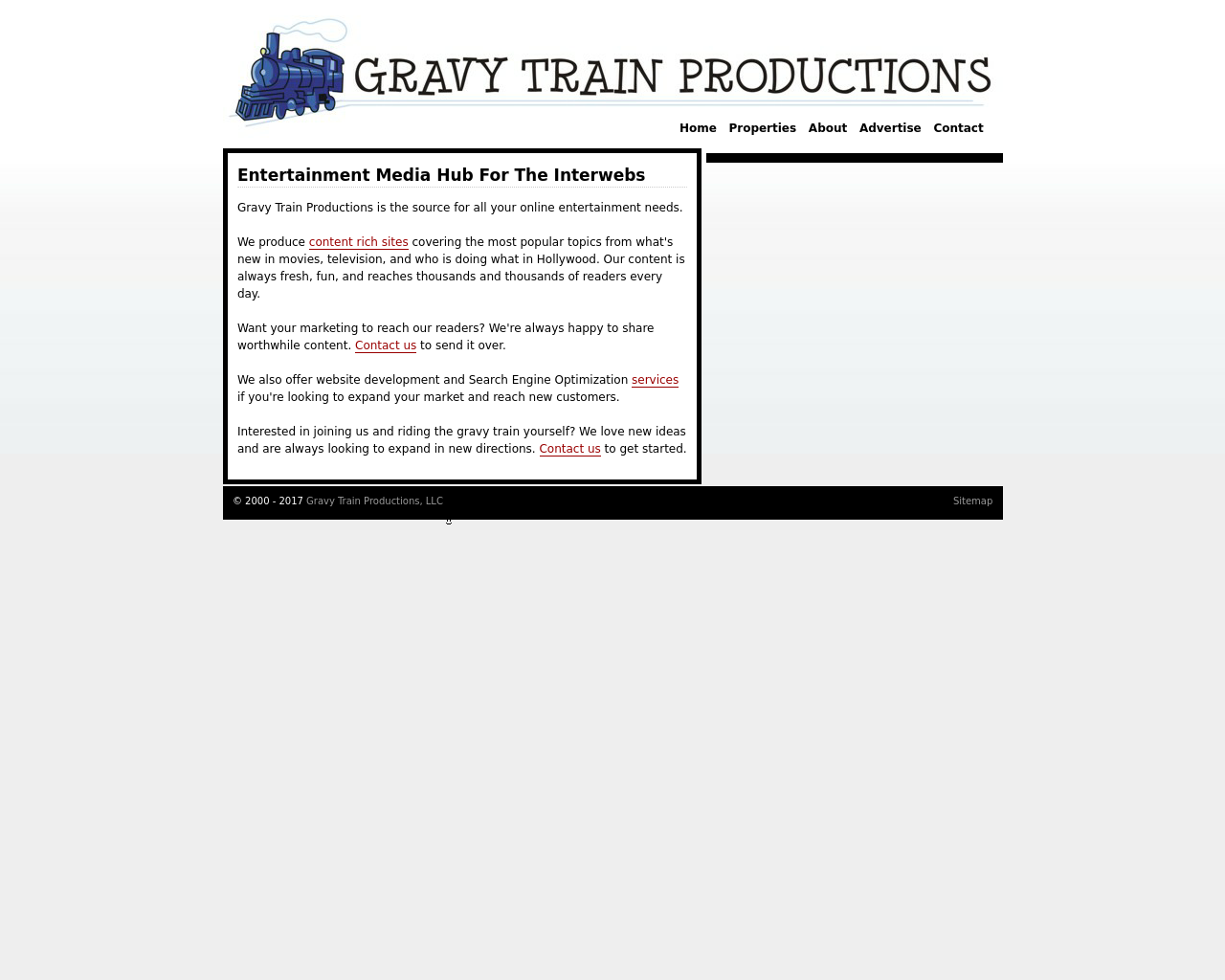 Gravy-Train-Productions-Advertising-Reviews-Pricing