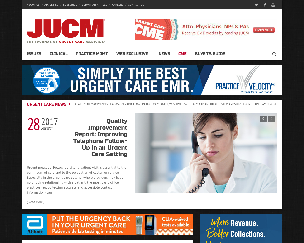 JUCM-The-Journal-Of-Urgent-Care-Medicine-Advertising-Reviews-Pricing