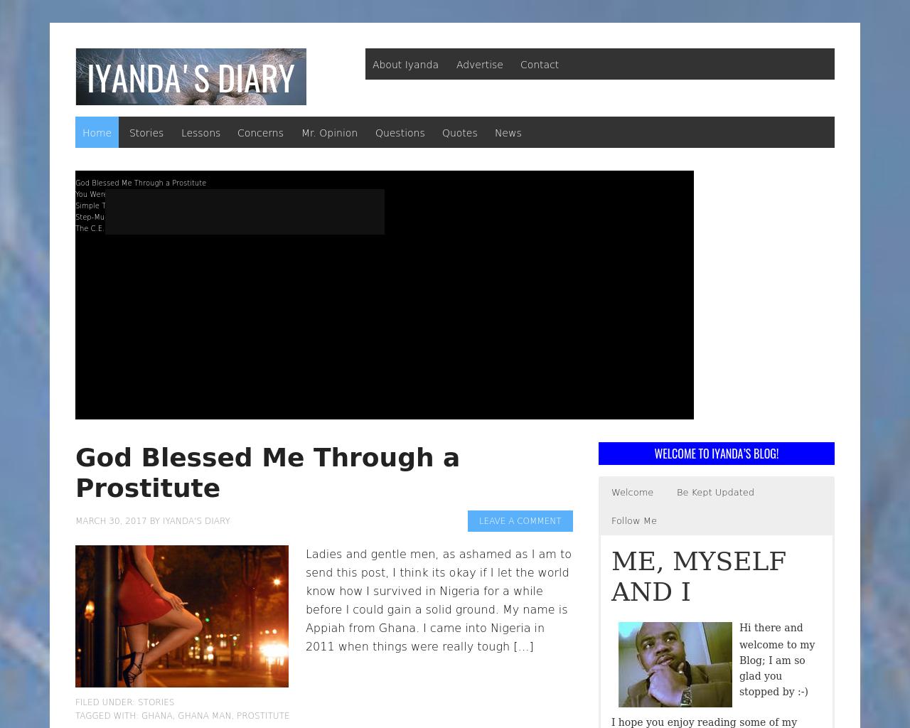 Iyanda's-Diary-Advertising-Reviews-Pricing