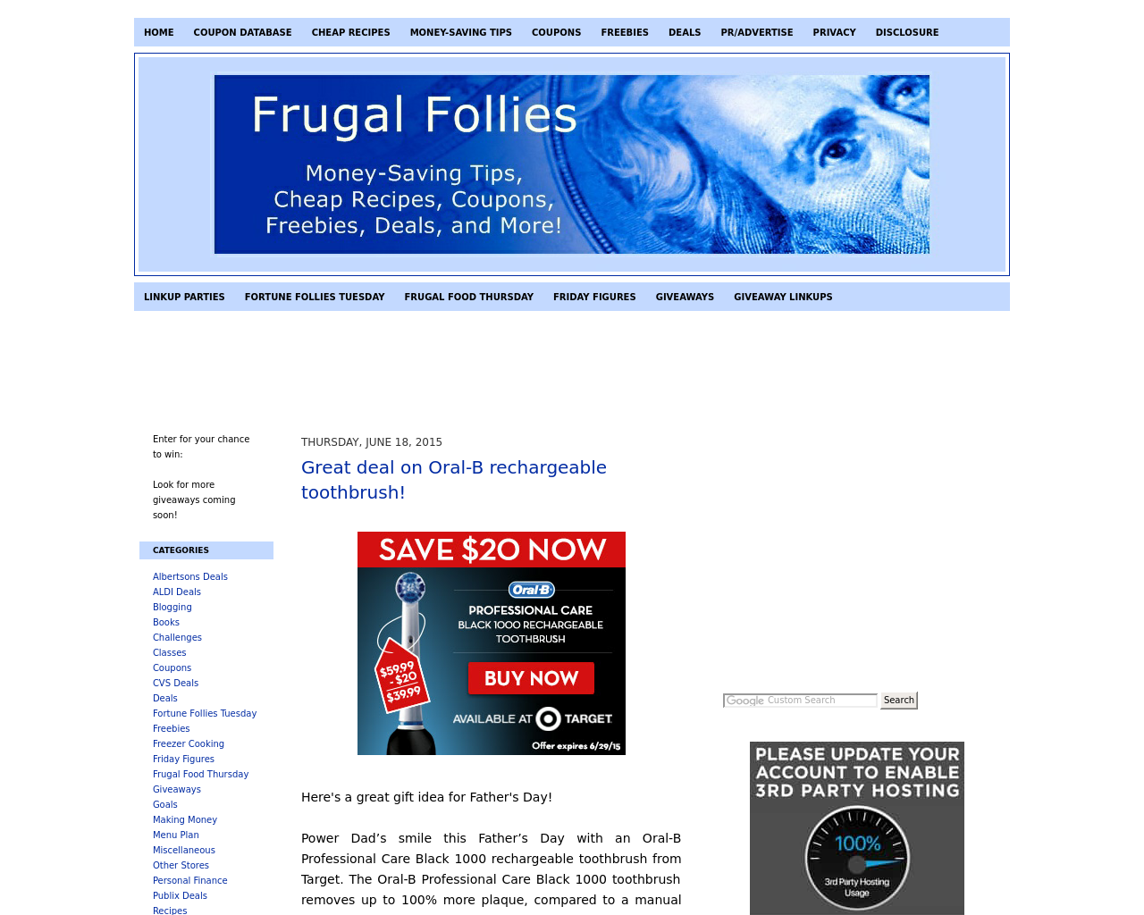 Frugal-Follies-Advertising-Reviews-Pricing