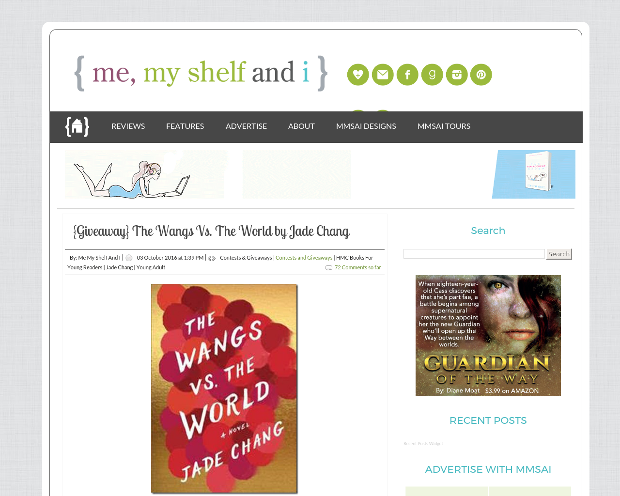 {me,-my-shelf-and-i}-Advertising-Reviews-Pricing