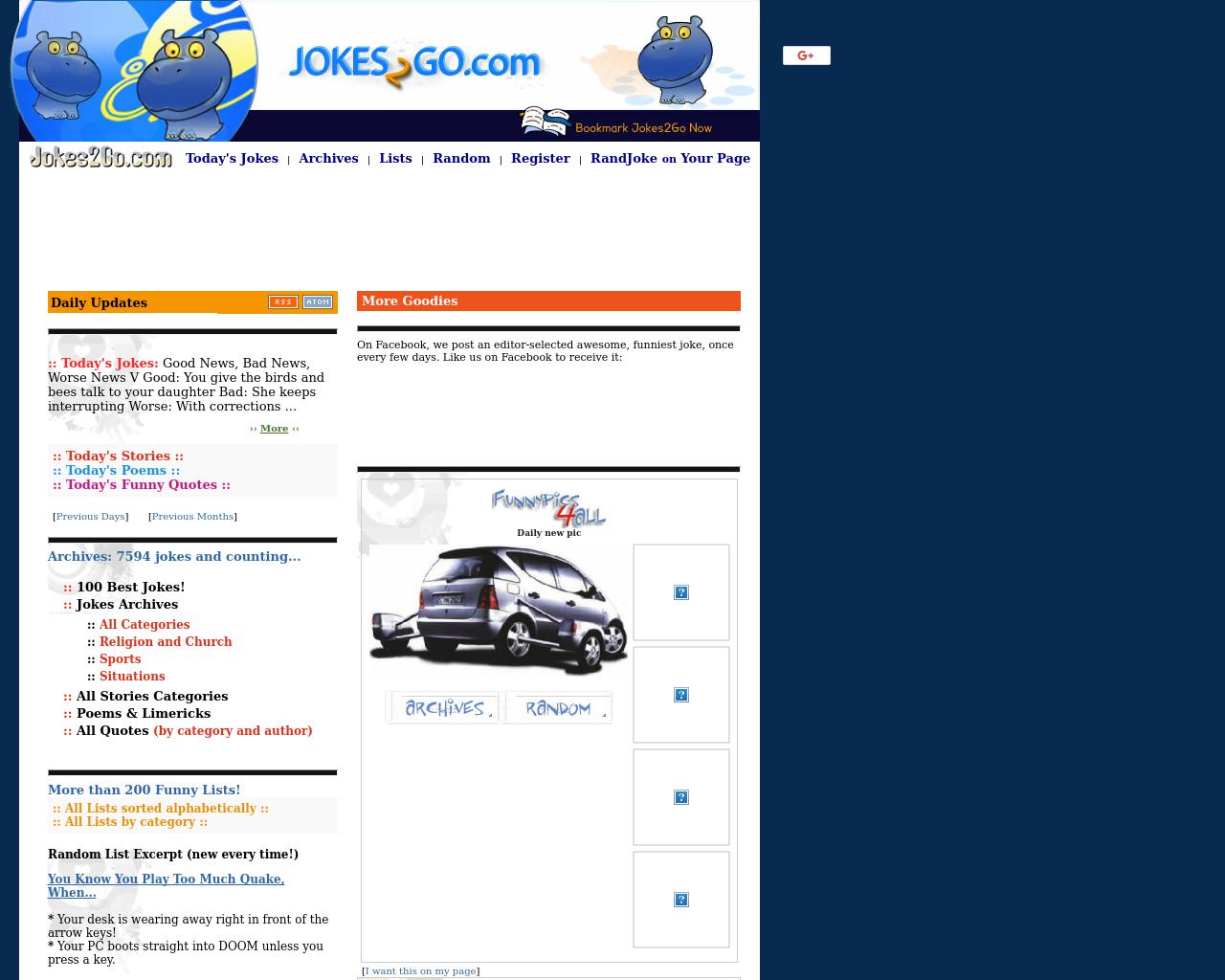 Jokes2Go.com-Advertising-Reviews-Pricing