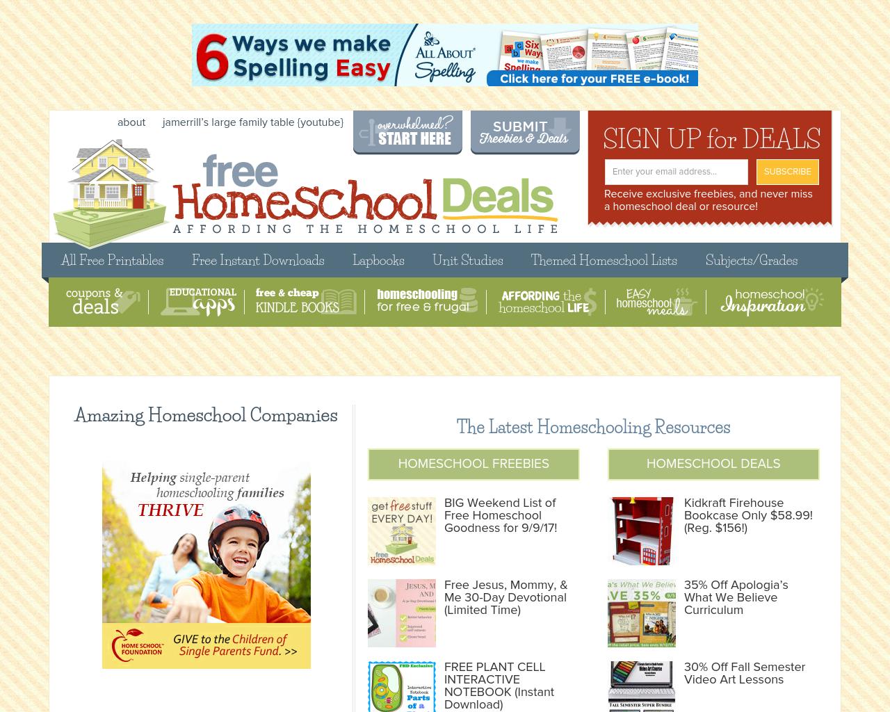 Free-Homeschool-Deals-Advertising-Reviews-Pricing