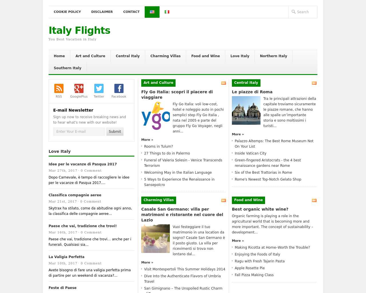 Italy-Flights-Advertising-Reviews-Pricing