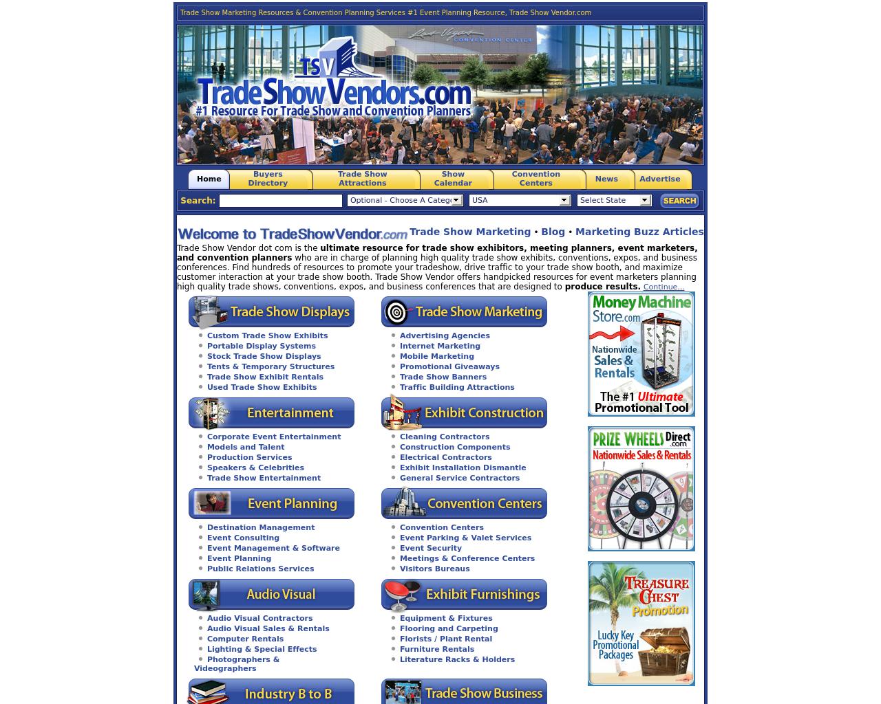 TradeShowVendors.com-Advertising-Reviews-Pricing