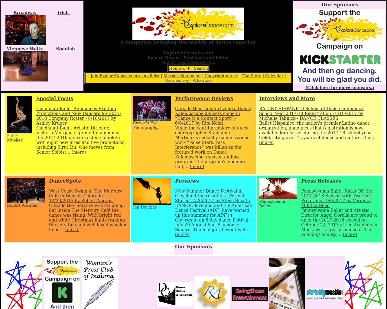 Explore-Dance-Advertising-Reviews-Pricing