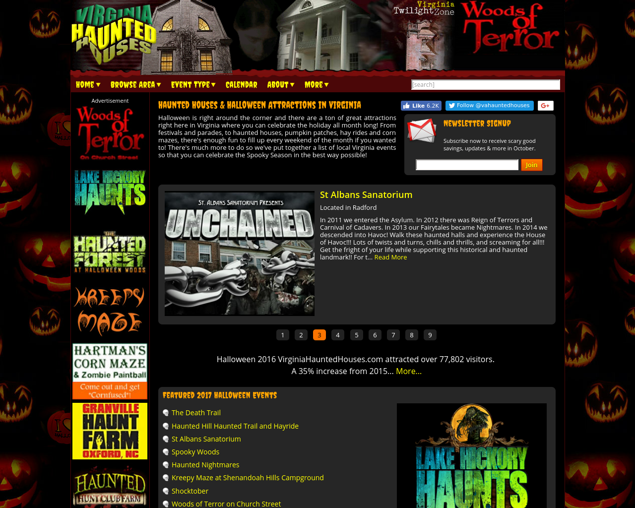 VirginiaHauntedHouses-Advertising-Reviews-Pricing