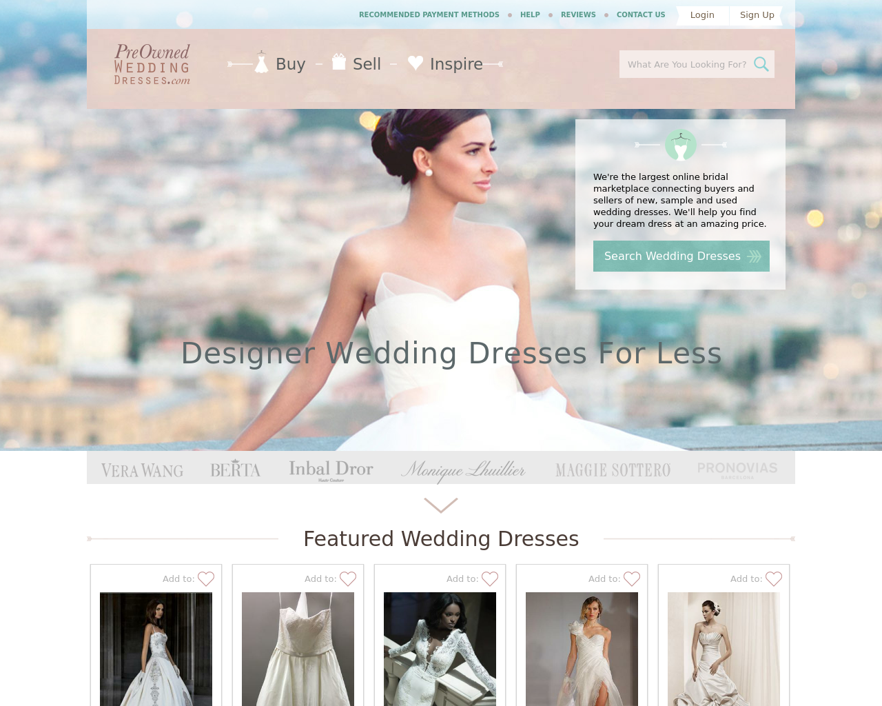 Preownedweddingdresses.com-Advertising-Reviews-Pricing