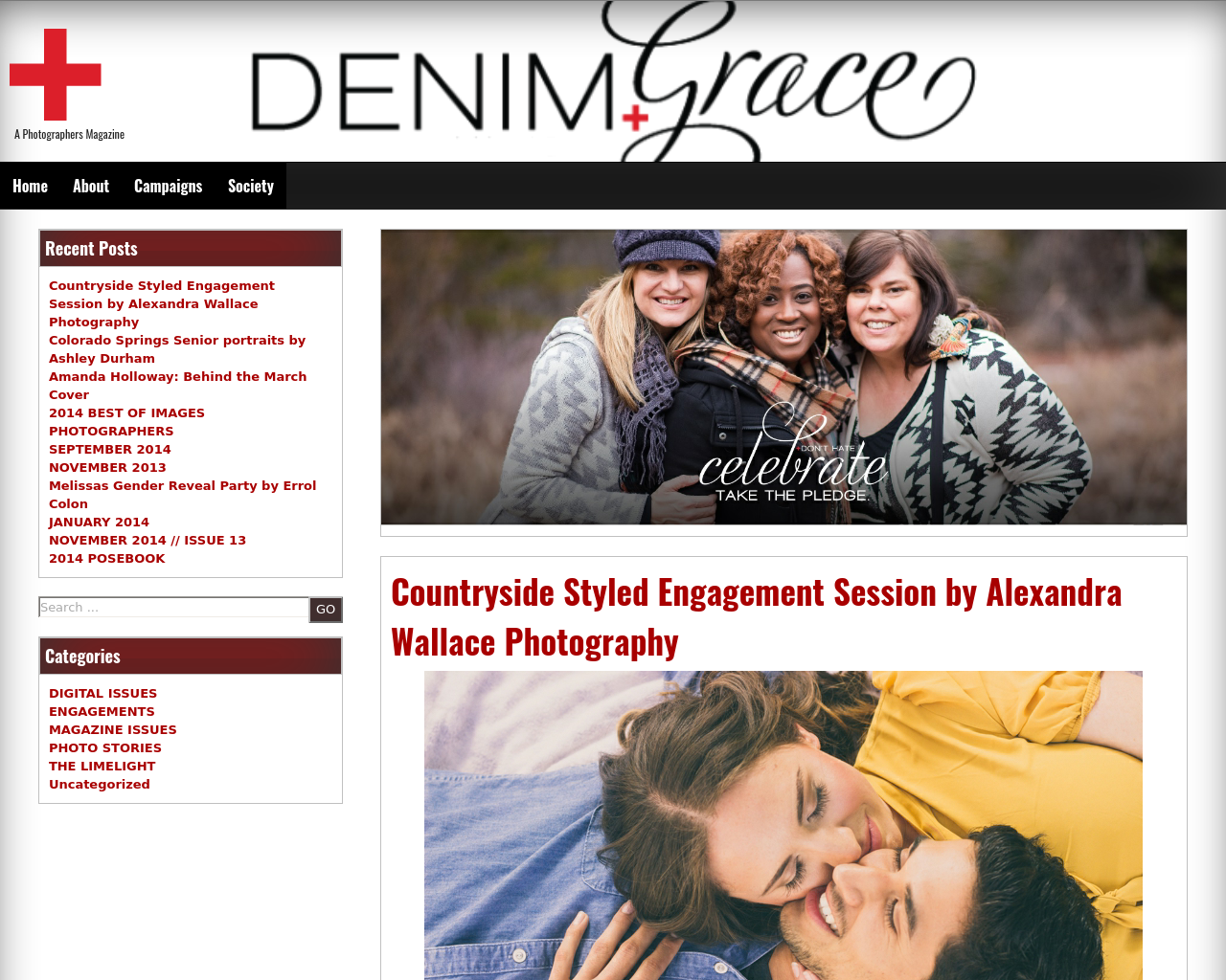 Photography-Magazine-|-Denim-+-Grace-Advertising-Reviews-Pricing