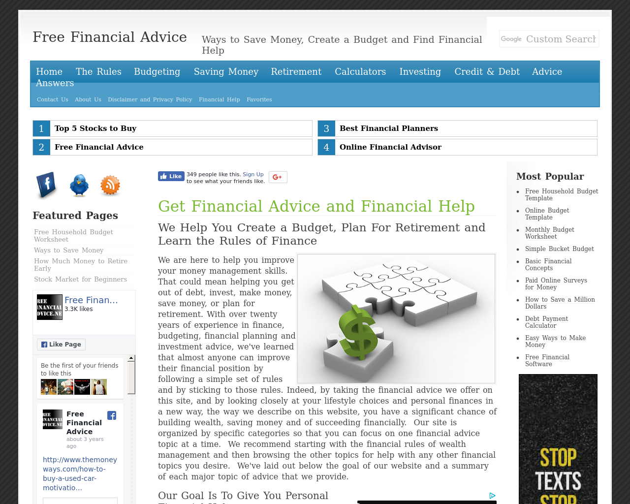 Free-Financial-Advice-Advertising-Reviews-Pricing
