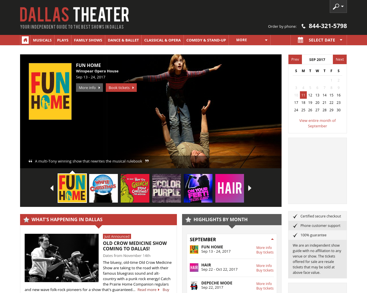 Dallas-Theater-Advertising-Reviews-Pricing