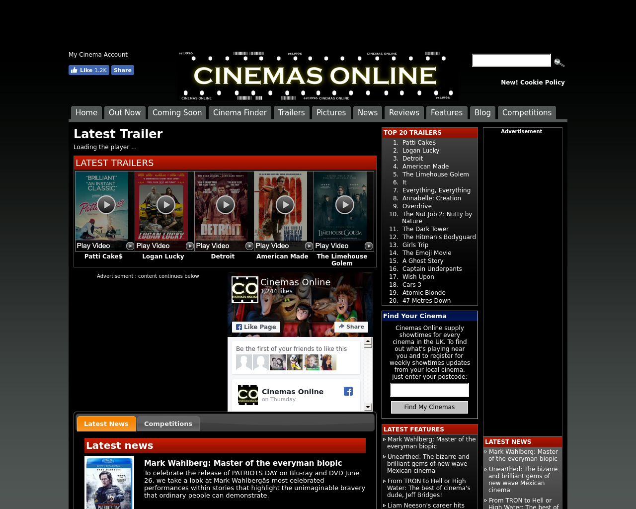 Cinemas-Online-Advertising-Reviews-Pricing