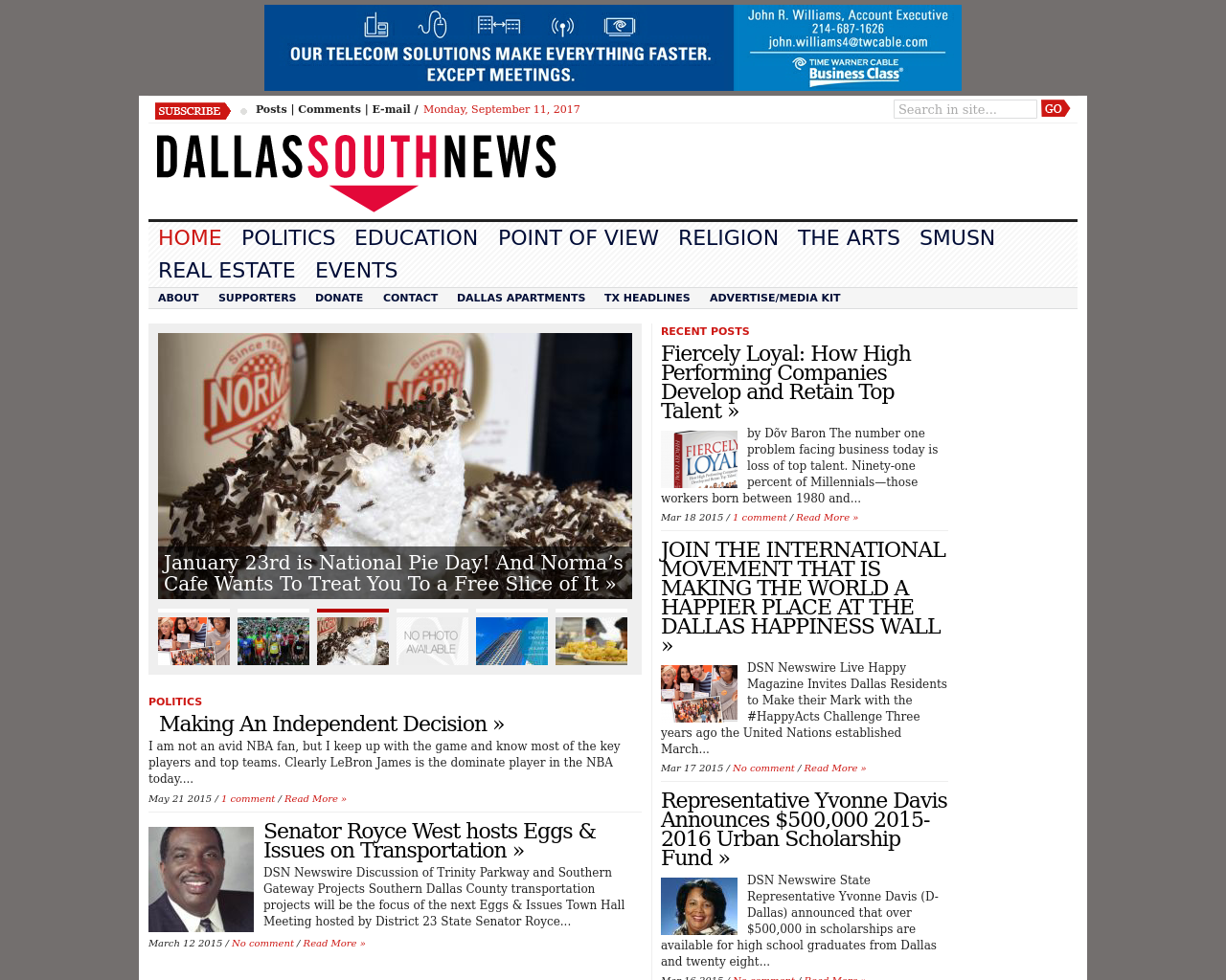 Dallas-South-News-Advertising-Reviews-Pricing