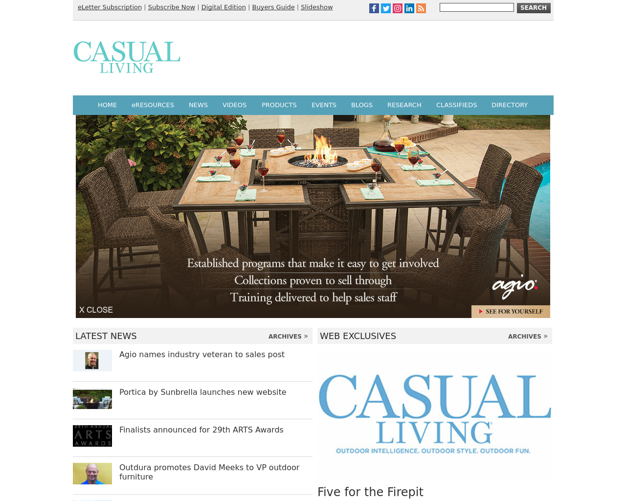 Casual-Living-Advertising-Reviews-Pricing