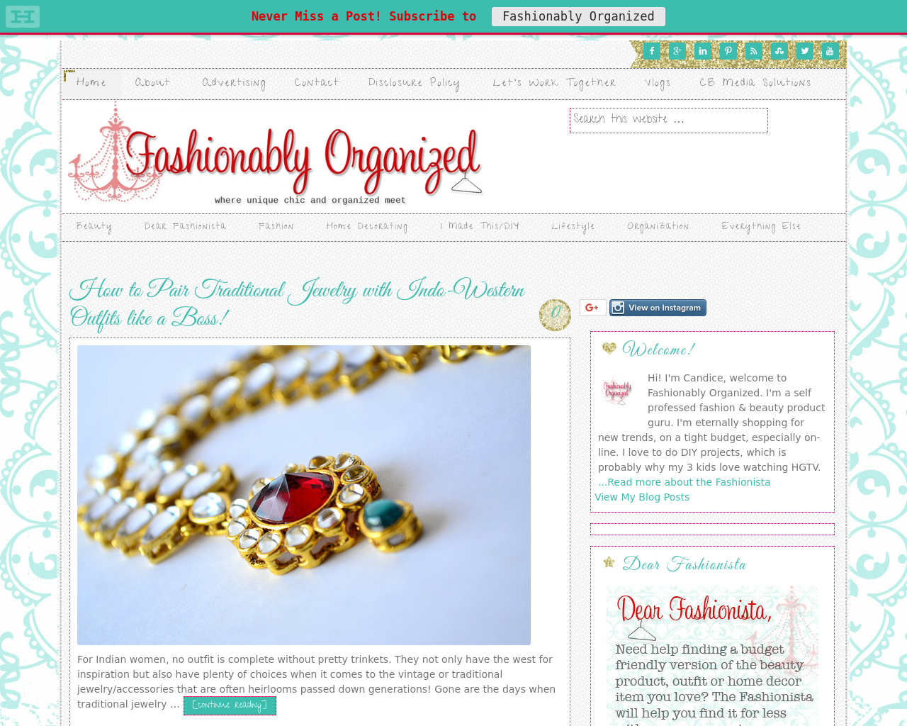 Fashionably-Organized-Advertising-Reviews-Pricing